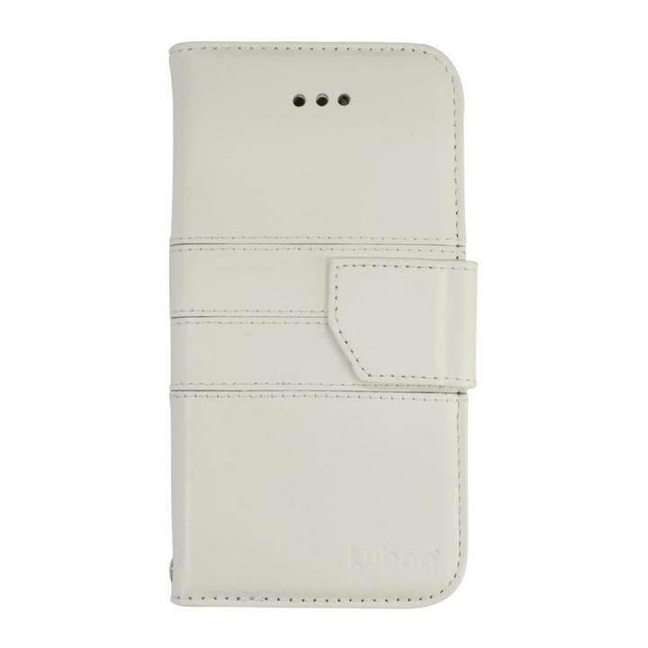 iPhone6s/6 ケース kuboq 本革手帳型ケース ホワイト iPhone 6s/6ケース_0