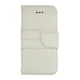 kuboq 本革手帳型ケース ホワイト iPhone 6s/6ケース