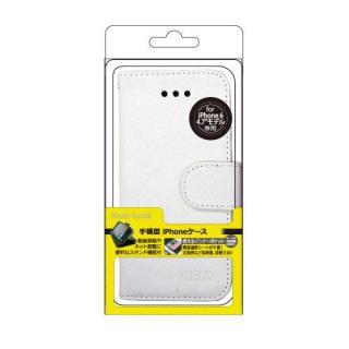 【iPhone6ケース】kuboq 合皮手帳型ケース ホワイト iPhone 6ケース_1