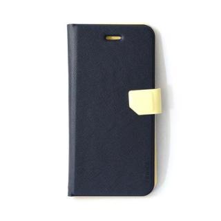 スリム&フィット手帳型ケース ネイビー iPhone 6s/6ケース