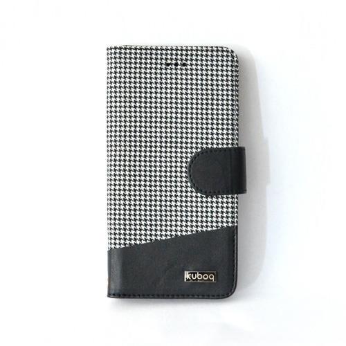【iPhone6 Plusケース】kuboq 手帳型ケース チェック iPhone 6 Plusケース_0