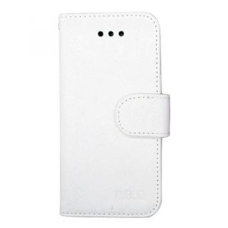 合皮手帳型ケース ホワイト iPhone 6 Plusケース