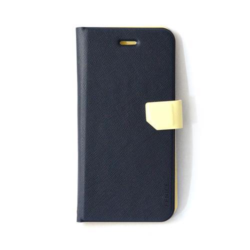 iPhone6s Plus/6 Plus ケース スリム&フィット手帳型ケース ネイビー iPhone 6s Plus/6 Plusケース_0