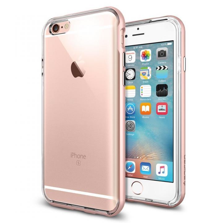 iPhone6s/6 ケース Spigen ネオハイブリッドEX ローズゴールド iPhone 6s_0