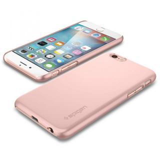 【iPhone6s/6ケース】Spigen 薄型ハードケース Thin Fit ローズゴールド iPhone 6s_1