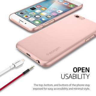 【iPhone6s/6ケース】Spigen 薄型ハードケース Thin Fit ローズゴールド iPhone 6s_7