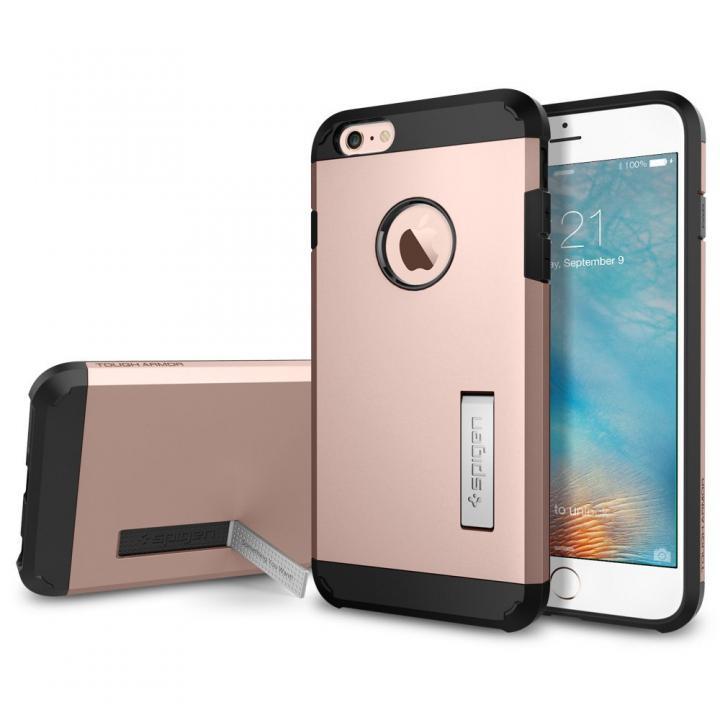Spigen タフ・アーマー 耐衝撃ケース ローズゴールド iPhone 6s Plus