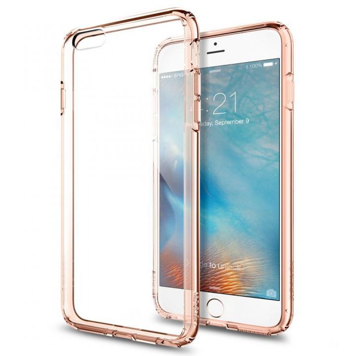【iPhone6s Plus/6 Plusケース】Spigen ウルトラハイブリッド ローズゴールド iPhone 6s Plus_0