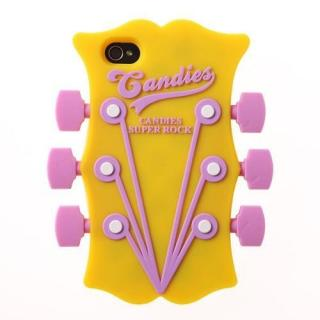 GUITER HEAD YELLOW iPhone4/4sケース