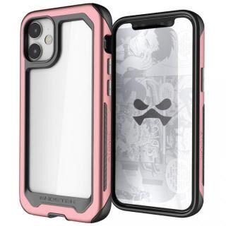iPhone 12 mini (5.4インチ) ケース アトミックスリム3 クリアバック×アルミフレーム ピンク iPhone 12 mini