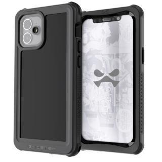 iPhone 12 mini (5.4インチ) ケース ノーティカル3 耐衝撃 防水 IP68準拠ブラック iPhone 12 mini