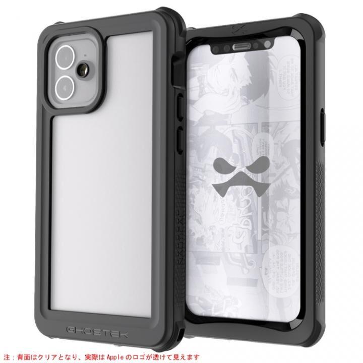 ノーティカル3 耐衝撃 防水 IP68準拠クリア iPhone 12 mini_0
