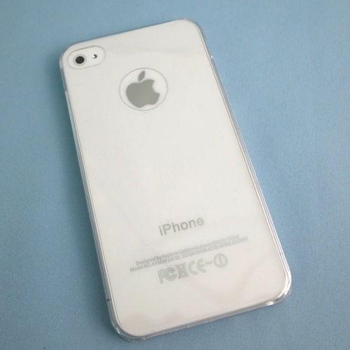 iPhone4s/4 Ultra Slim Feather Case, True Clear_0