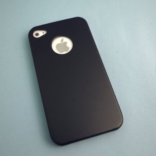 iPhone4s/4 メタルケース ブラック_0