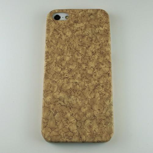 iPhone SE/5s/5 ケース iPhone5 木目調ケース PCケース コルク_0