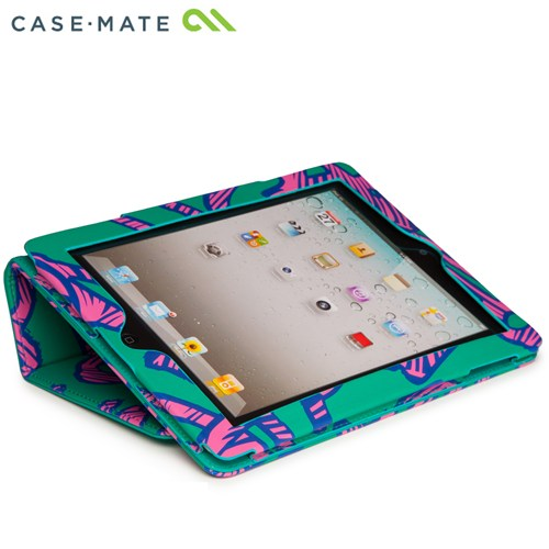 Case-Mate iPad (第2,3,4世代) Colorblock Slim Stand Case  Graffiti