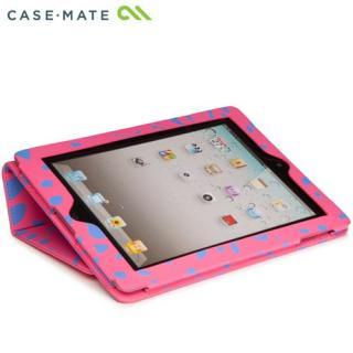 Case-Mate iPad (第2,3,4世代) Slim Stand Case, Lipstick Pink Ocelot