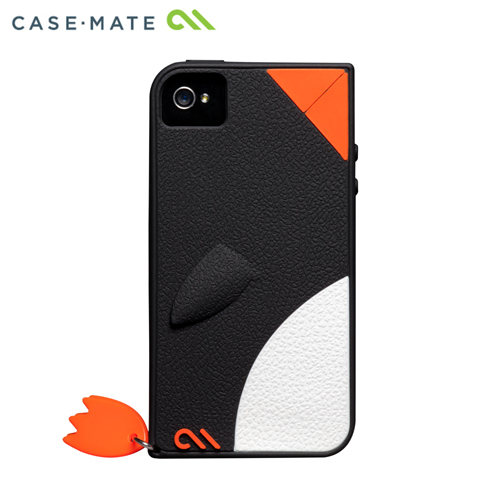 iPhone4s/4 Creatures: Waddler Case, Black