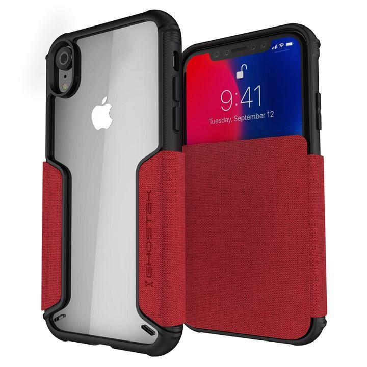 iPhone XR ケース エグゼク3 背面ケース レッド iPhone XR_0