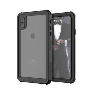 ノーティカル IP68耐衝撃/防水/防雪/防塵ケース  ブラック iPhone XS Max【10月中旬】