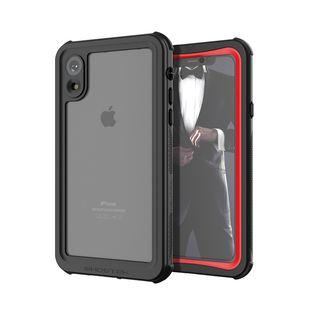 【iPhone XRケース】ノーティカル IP68耐衝撃/防水/防雪/防塵ケース  レッド iPhone XR【10月下旬】