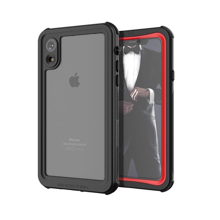 【iPhone XRケース】ノーティカル IP68耐衝撃/防水/防雪/防塵ケース  レッド iPhone XR_0
