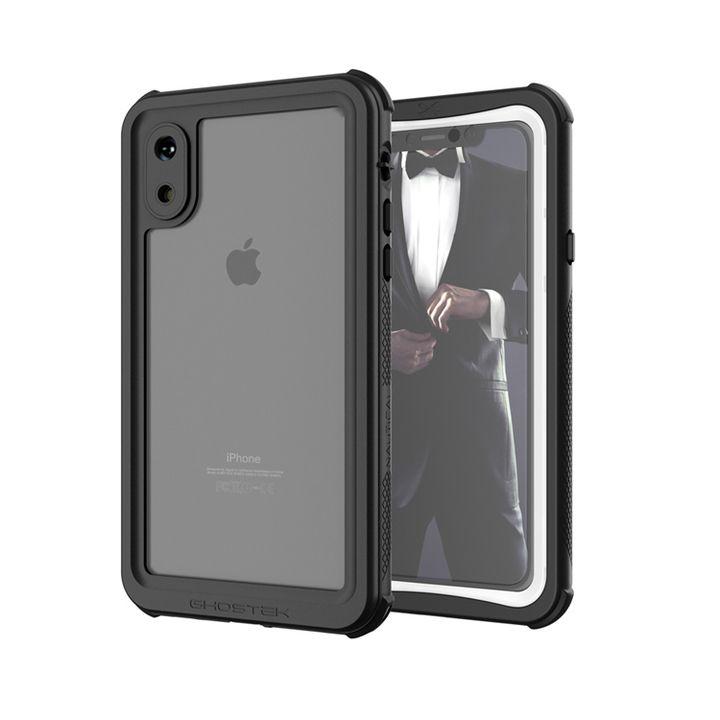 iPhone XS ケース ノーティカル IP68耐衝撃/防水/防雪/防塵ケース  ホワイト iPhone XS_0