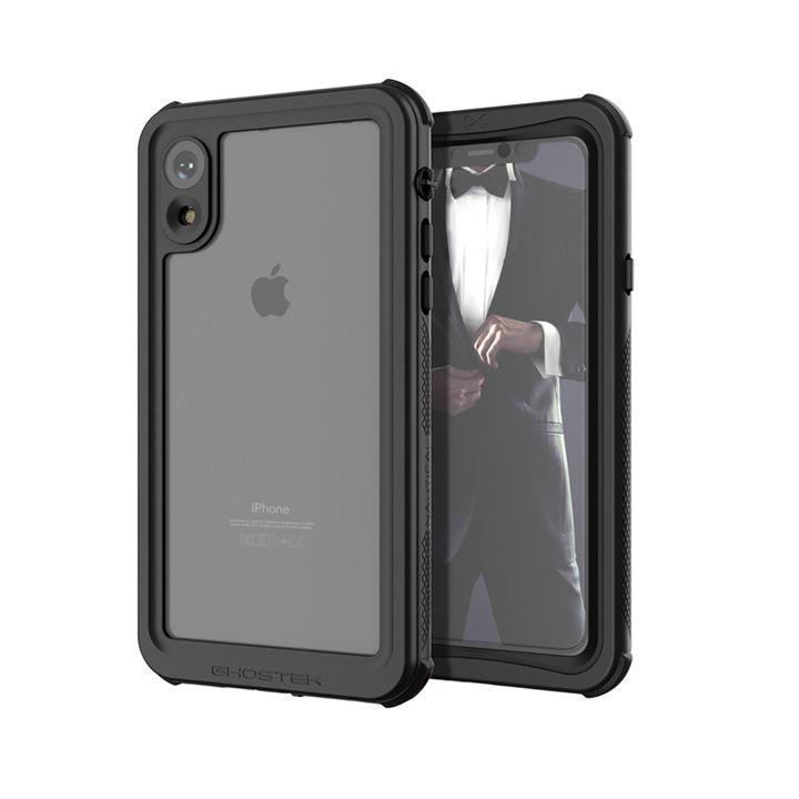 2741ffb36b [第10位] ノーティカル IP68耐衝撃/防水/防雪/防塵ケース ブラック iPhone XR
