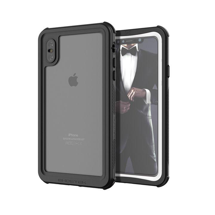 iPhone XS Max ケース ノーティカル IP68耐衝撃/防水/防雪/防塵ケース  ホワイト iPhone XS Max_0