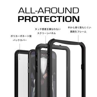 【iPhone XRケース】ノーティカル IP68耐衝撃/防水/防雪/防塵ケース  ホワイト iPhone XR_10