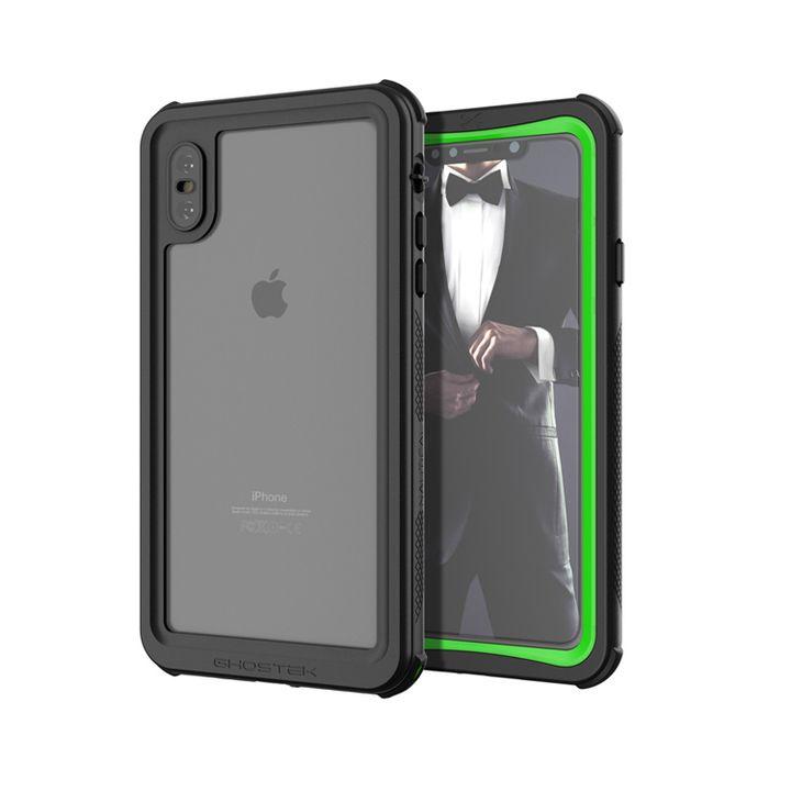 iPhone XS Max ケース ノーティカル IP68耐衝撃/防水/防雪/防塵ケース  グリーン iPhone XS Max_0