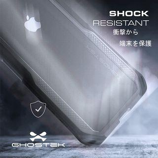 【iPhone XRケース】クローク4 ハイブリッドクリア背面ケース レッド iPhone XR【10月下旬】_9