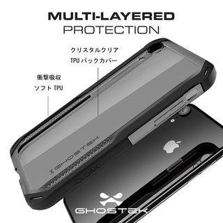 【iPhone XRケース】クローク4 ハイブリッドクリア背面ケース レッド iPhone XR【10月下旬】_6