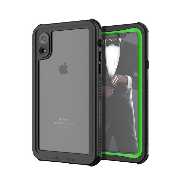 【iPhone XRケース】ノーティカル IP68耐衝撃/防水/防雪/防塵ケース  グリーン iPhone XR_0