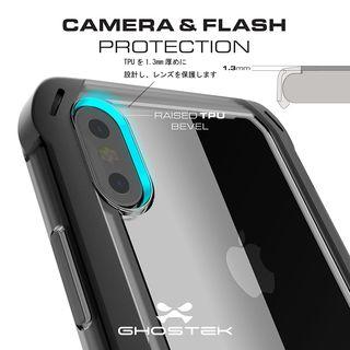 【iPhone XS Maxケース】クローク4 ハイブリッドクリア背面ケース ブルー iPhone XS Max【10月下旬】_8