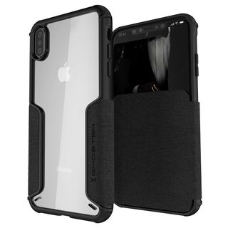 【iPhone XS Maxケース】エグゼク3 背面ケース ブラック iPhone XS Max