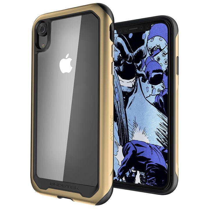 【iPhone XRケース】アトミックスリム2 背面ケース ゴールド iPhone XR_0