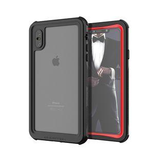 iPhone XS Max ケース ノーティカル IP68耐衝撃/防水/防雪/防塵ケース  レッド iPhone XS Max