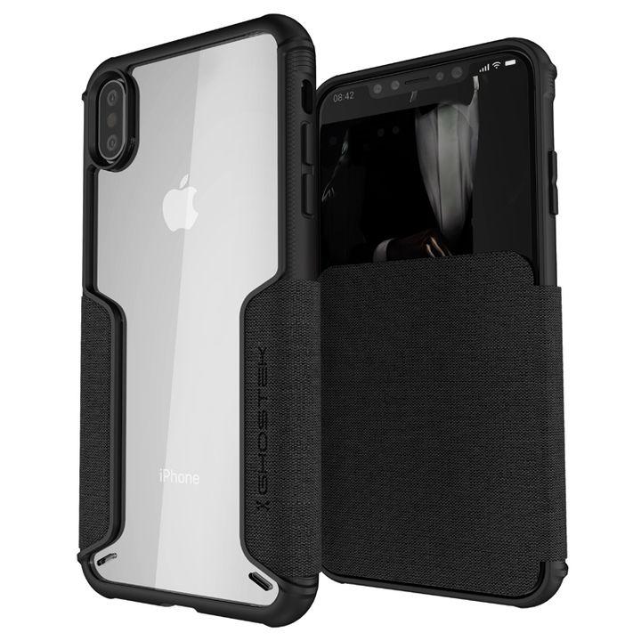【iPhone XS Maxケース】エグゼク3 背面ケース ブラック iPhone XS Max_0