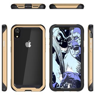 【iPhone XRケース】アトミックスリム2 背面ケース ゴールド iPhone XR_1