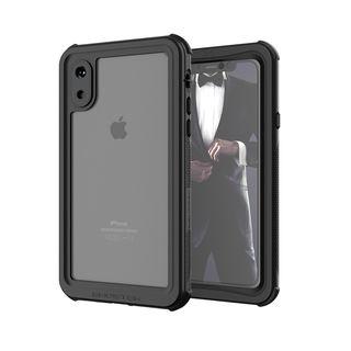 iPhone XS ケース ノーティカル IP68耐衝撃/防水/防雪/防塵ケース  ブラック iPhone XS