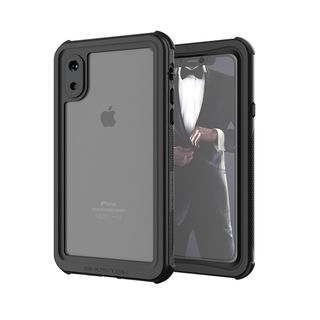 【iPhone XSケース】ノーティカル IP68耐衝撃/防水/防雪/防塵ケース  ブラック iPhone XS