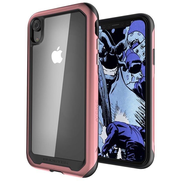 iPhone XR ケース アトミックスリム2 背面ケース ピンク iPhone XR_0