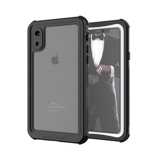【iPhone XSケース】ノーティカル IP68耐衝撃/防水/防雪/防塵ケース  ホワイト iPhone XS