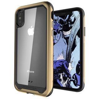 【iPhone XSケース】アトミックスリム2 背面ケース ゴールド iPhone XS