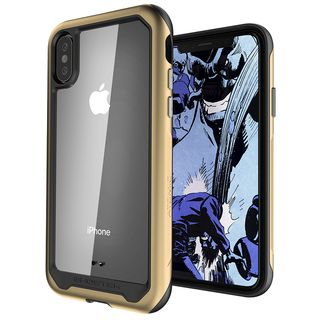 iPhone XS/X ケース アトミックスリム2 背面ケース ゴールド iPhone XS/X