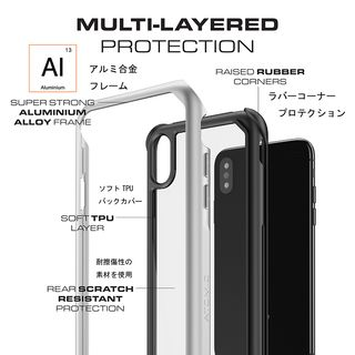 【iPhone XSケース】アトミックスリム2 背面ケース レッド iPhone XS_7
