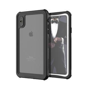 ノーティカル IP68耐衝撃/防水/防雪/防塵ケース  ホワイト iPhone XS Max