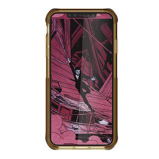 【iPhone XS Maxケース】クローク4 ハイブリッドクリア背面ケース ブルー iPhone XS Max【10月下旬】_3