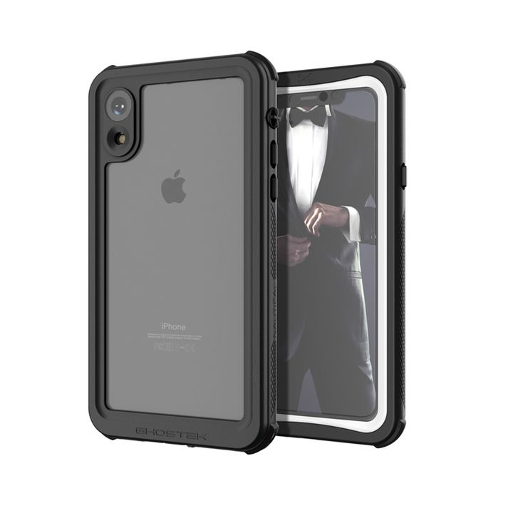 iPhone XR ケース ノーティカル IP68耐衝撃/防水/防雪/防塵ケース  ホワイト iPhone XR_0